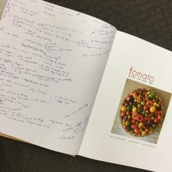 annotated Tomato book by student