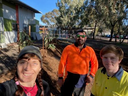 Karen, Darren and Jack bush tucker landscaping
