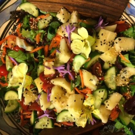 Babaco salad