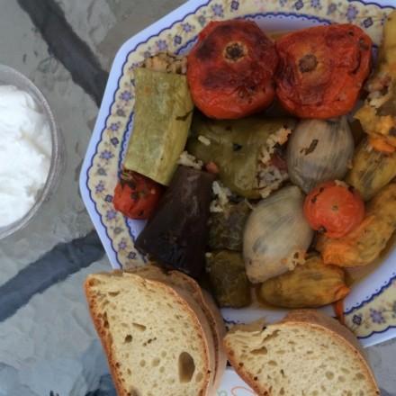 Tula stuffed vegetarian vegetables