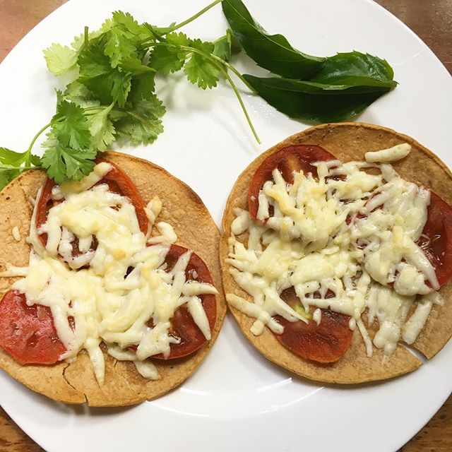 gluten free Mexican pizza