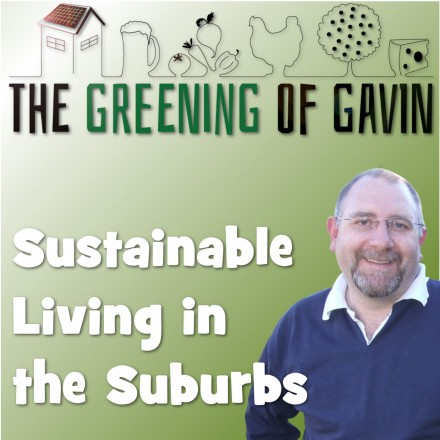 The greening of Gavin Sustainable living in the suburbs